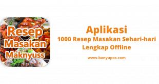 Download 1000 Resep Masakan Sehari-hari Lengkap Offline